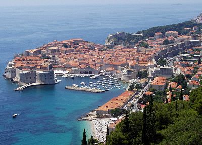 cityscapes, buildings, Croatia, Dubrovnik - random desktop wallpaper