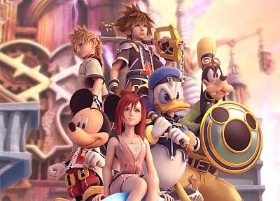 video games, Kingdom Hearts - random desktop wallpaper
