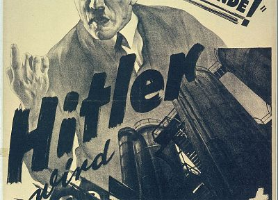 propaganda, World War II, Adolf Hitler - random desktop wallpaper
