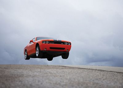cars, muscle cars, Dodge, vehicles, Challenger SRT - random desktop wallpaper