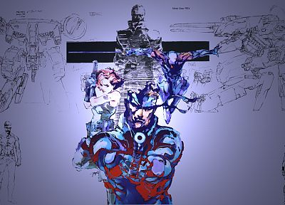 video games, Metal Gear Solid - random desktop wallpaper