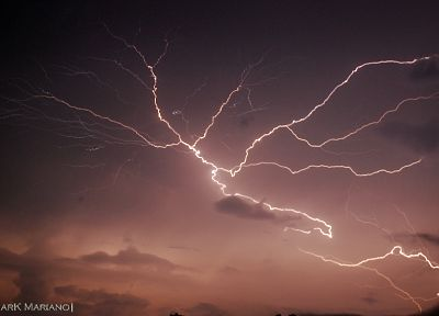 nature, weather, lightning, skyscapes - related desktop wallpaper
