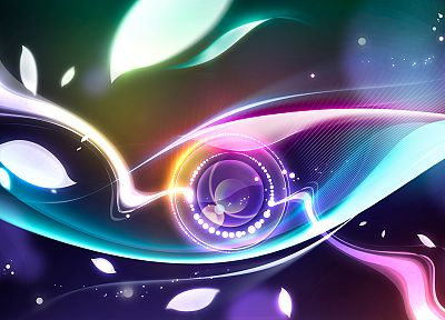 abstract, multicolor, digital art - related desktop wallpaper