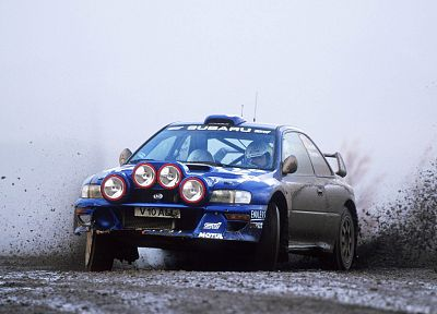 cars, Subaru Impreza WRX STI, rally car - random desktop wallpaper
