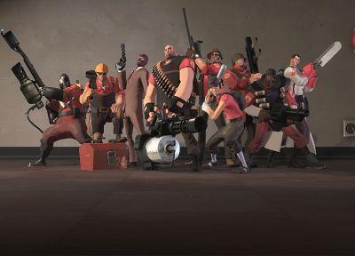 Heavy TF2, Engineer TF2, Pyro TF2, Spy TF2, Scout TF2, Medic TF2, Demoman TF2, Team Fortress 2, Soldier TF2, Sniper TF2, Red team TF2 - related desktop wallpaper