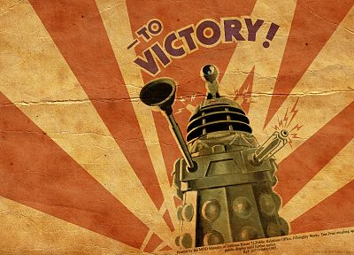 Dalek, propaganda, Doctor Who, posters - related desktop wallpaper