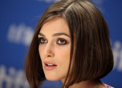 women, Keira Knightley, celebrity, faces - random desktop wallpaper