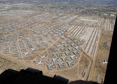 aircraft, military, Davis–Monthan Air Force Base - desktop wallpaper