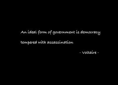 quotes, Voltaire - random desktop wallpaper