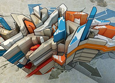 abstract, graffiti, artwork - related desktop wallpaper