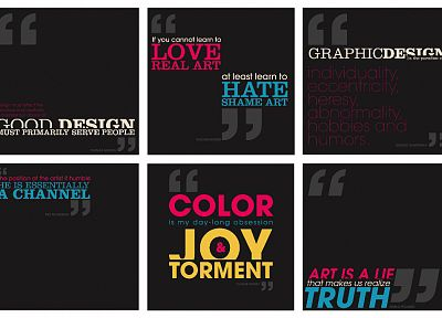 quotes, typography, graphic design, panels, squares - desktop wallpaper