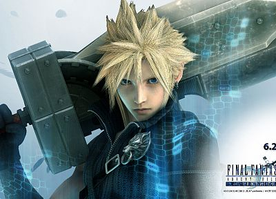 Final Fantasy VII Advent Children, Cloud Strife - desktop wallpaper