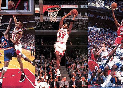 NBA, Chicago Bulls, Scottie Pippen - random desktop wallpaper