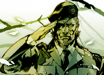 Metal Gear Solid, Solid Snake - desktop wallpaper