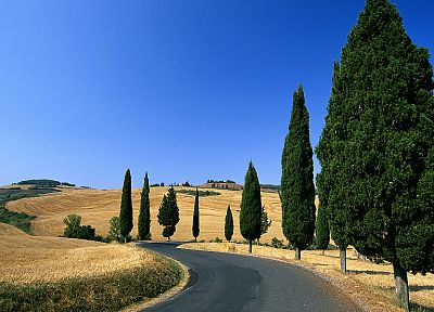 landscapes, nature, Italy, roads - random desktop wallpaper