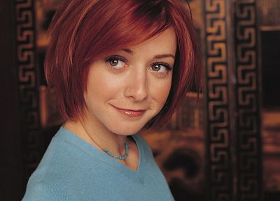 Alyson Hannigan, Buffy the Vampire Slayer, Willow Rosenberg - random desktop wallpaper