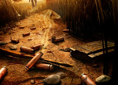 video games, ammunition, Far Cry 2, Bulleta - related desktop wallpaper