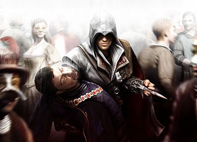 video games, Assassins Creed, Altair Ibn La Ahad - related desktop wallpaper