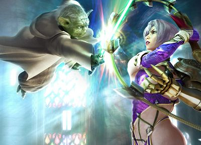 Soul Calibur, Yoda, Ivy Valentine - related desktop wallpaper