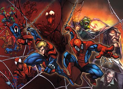 Spider-Man, Carnage, Marvel Comics, Green Goblin - random desktop wallpaper