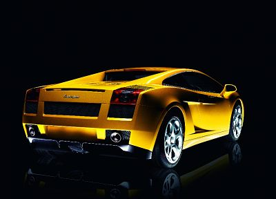 cars, vehicles, Lamborghini Gallardo, rear angle view - related desktop wallpaper