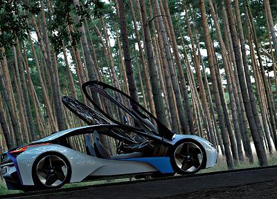 BMW, cars, vehicles, BMW i8 concept, EfficientDynamics - random desktop wallpaper