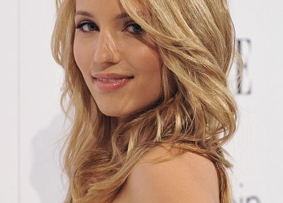 blondes, women, actress, Dianna Agron - related desktop wallpaper