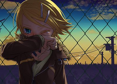 Vocaloid, Kagamine Rin, anime girls - random desktop wallpaper