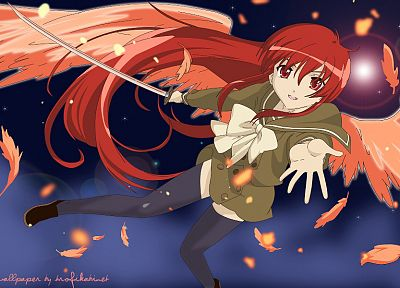 Shakugan no Shana, Shana, anime girls - random desktop wallpaper