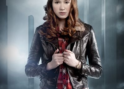 Karen Gillan, Amy Pond, Doctor Who - related desktop wallpaper