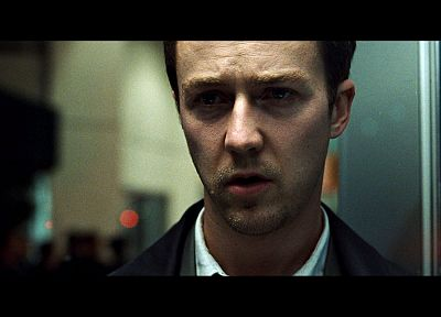 Fight Club, Edward Norton, screenshots - related desktop wallpaper