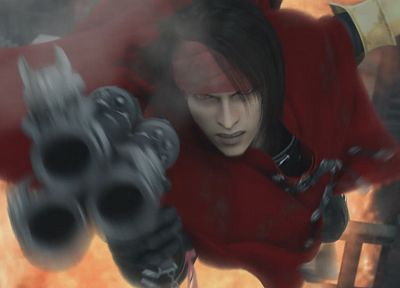 Final Fantasy VII, Final Fantasy VII Advent Children, Vincent Valentine - random desktop wallpaper