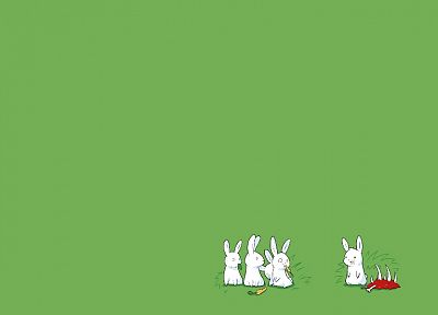 rabbits - desktop wallpaper
