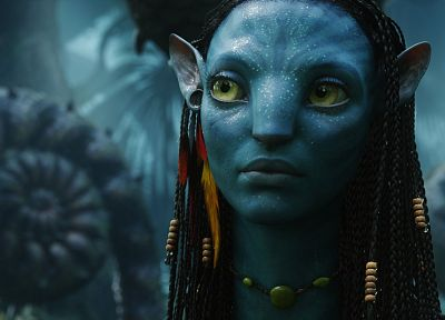 movies, Avatar, Neytiri - random desktop wallpaper