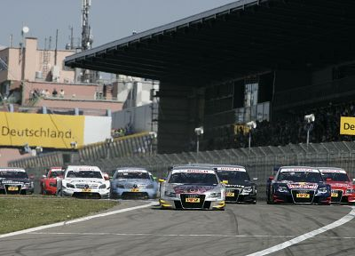 Audi A4, DTM, German cars - random desktop wallpaper