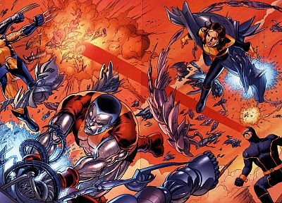 X-Men, Marvel Comics, hero - random desktop wallpaper