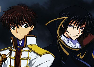 Code Geass, Kururugi Suzaku, Lamperouge Lelouch - desktop wallpaper
