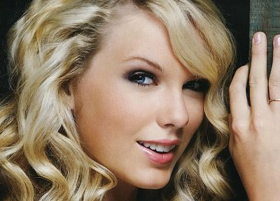 blondes, women, eyes, Taylor Swift, celebrity - random desktop wallpaper