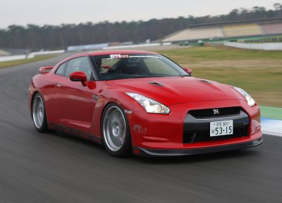 cars, Nissan GT-R R35 - desktop wallpaper