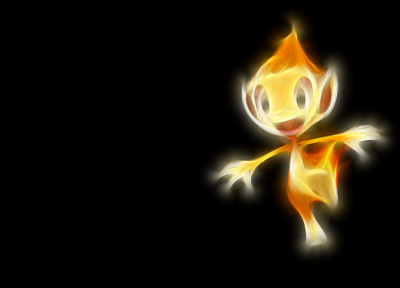 Pokemon, simple background, black background - desktop wallpaper