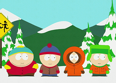 South Park, Eric Cartman, Stan Marsh, Kenny McCormick, Kyle Broflovski - related desktop wallpaper
