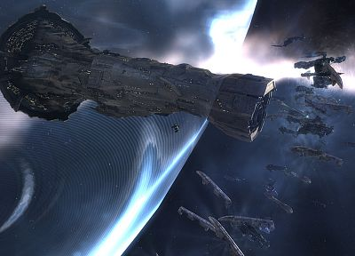 outer space, EVE Online, spaceships, vehicles - related desktop wallpaper