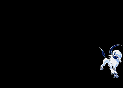 Pokemon, Fractalius, Absol - random desktop wallpaper