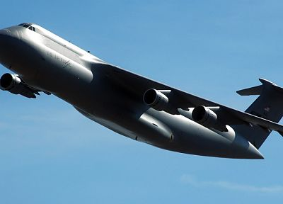 aircraft, military, C-5 Galaxy - desktop wallpaper