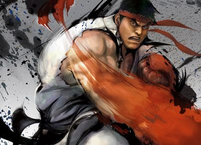 video games, Street Fighter, Ryu - random desktop wallpaper