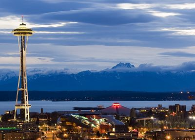 cityscapes, Seattle - random desktop wallpaper