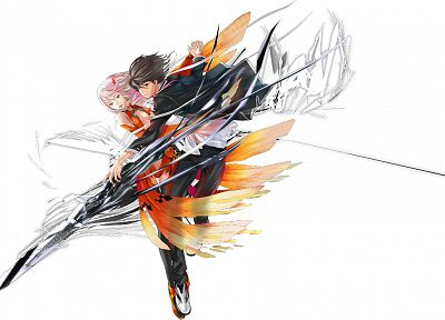 anime, Guilty Crown, Ouma Shu, Yuzuriha Inori - random desktop wallpaper