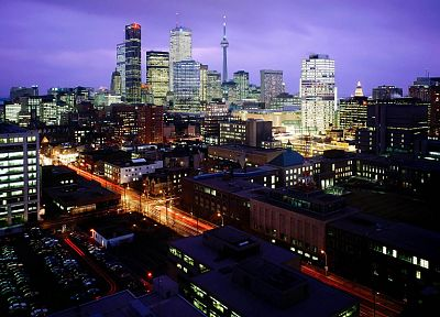 cityscapes, architecture, buildings, Toronto - desktop wallpaper