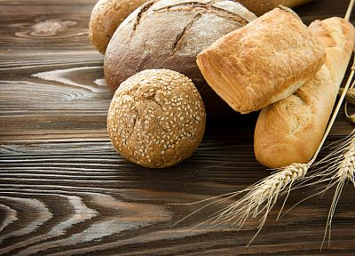 food, bread, wheat, flour, meal, farina, Baguette - random desktop wallpaper