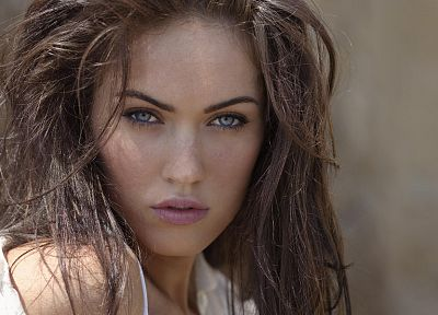 brunettes, women, Megan Fox, actress, celebrity, faces - related desktop wallpaper